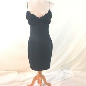 Tadashi Sexy Black Dress